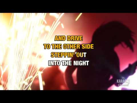 Steppin' Out in the style of Joe Jackson | Karaoke with Lyrics