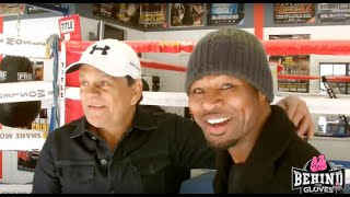 "SHANE MOSLEY ARRANGING ""FLASHMOB""?/ TALKS TRAINING OLD SCHOOL STYLE WITH ROBERTO DURAN"