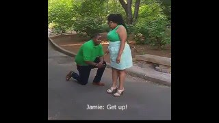 Best Surprise Proposal at Photoshoot
