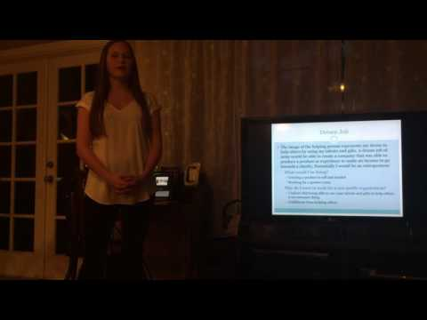 Career Path Speech Kathleen Taylor