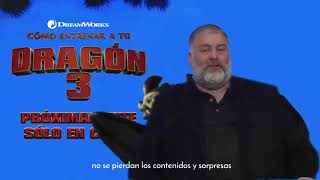 A Message From Dean Deblois Director Of How To Train Your Dragon The Hidden World