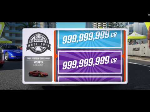 Forza Horizon 3's 999,999,999 wheelspin glitch threatens in