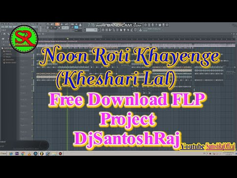 Noon Roti Khayenge {Khesari Lal } Free Download FLP Project