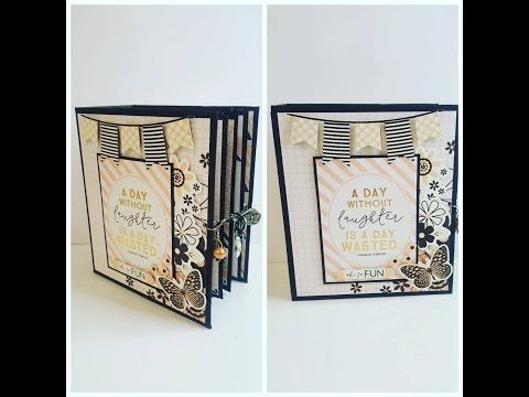 Tutorial:Mini envelope album making series 4 by Sa Crafters
