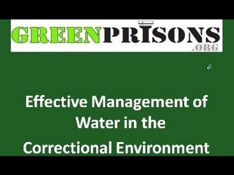 Seven Steps to Sustainable Corrections - Water