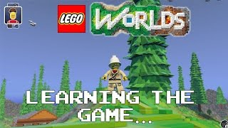LEGO Worlds - Learning the Game... [PC Gameplay, Commentary]