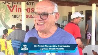 Vice Prefeito Magela Estácio declara apoio a deputada Aderlânia Noronha