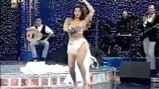 Turkish Belly Dance ,Tanyeli in white - 1993
