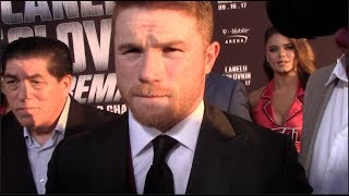 SAUL 'CANELO' ALVAREZ - 'I WILL KO GOLOVKIN! - IM NOT LOOKING JUST TO BEAT HIM' / CANELO v GOLOVKIN