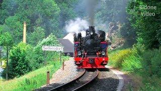 Eisenbahn 2012 4-5 Dampfloks - Steam Trains - Züge
