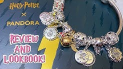 HARRY POTTER X PANDORA COLLECTION REVIEW AND LOOKBOOK!