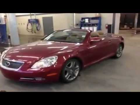 2007 Lexus Sc 430 2 Door Convertible Lexus Of Edmonton Ab