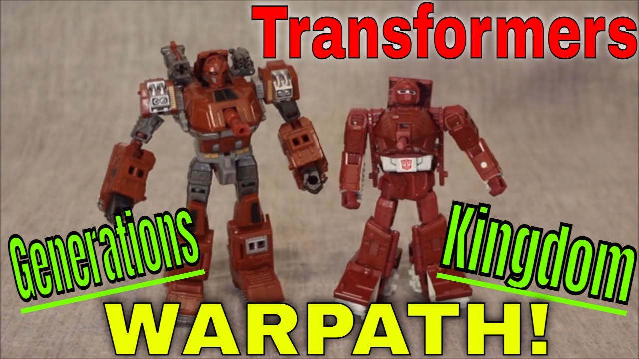 It's a war...path!: Kingdom vs. Generations Warpath! Review by GotBot