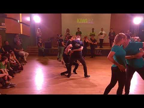 KiwiFest2018 - Open Strictly Final Allskate - Artur Radzikhovskii & Ilmira Galieva