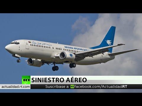 Reportan el siniestro de un avión de Ariana Afghan Airlines y esa compañía desmiente el suceso