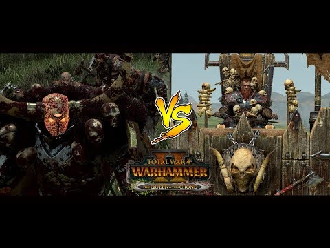 TWW2: Early access Norsca vs Chaos |