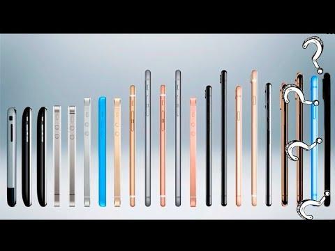 эволюция всех Iphone  (от Iphone 2g до Iphone 11 Pro Max!!!)