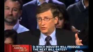 A.MARWA QNET: Bill Gates announces what are the 2 TOP industries to be a part of!!!!