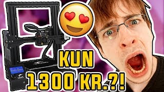3D PRINTER TIL 1300KR!? - Ender 3 unbox, samling og test