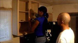Do It Yourself - Kitchen Remodel Part V - Installing Kitchen Cabinets