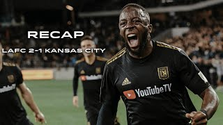 Recap | LAFC vs. Sporting Kansas City