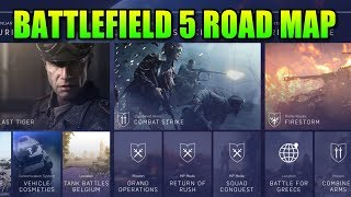 Battlefield 5 Road Map - Firestorm, Greece, Belgium & Co-OP
