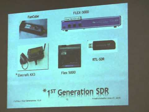 Dr. Howard White, KY6LA: Four Generations of SDR Architectures and Products