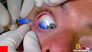 Ouch... Tattooing on Eyeball | Blood and Tattoo Part 8 | Ancient Ink