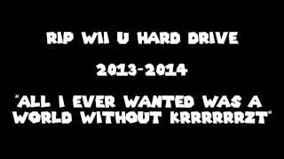 RIP My Wii U External Hard Drive
