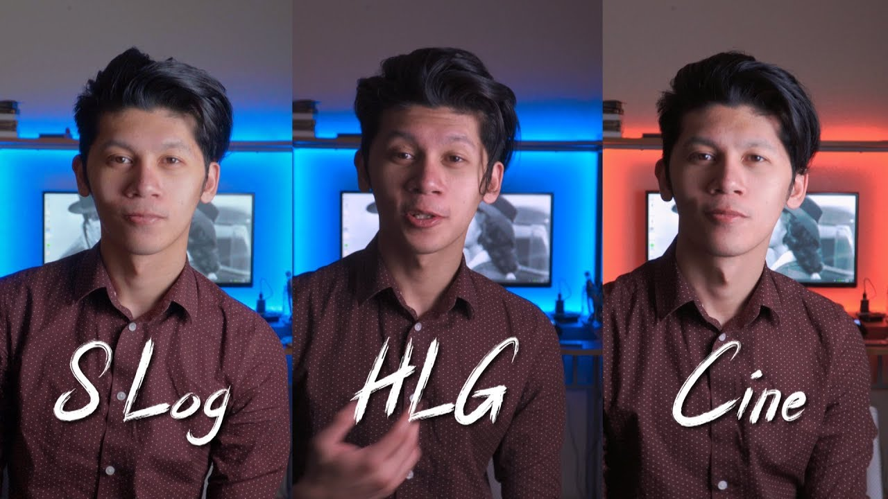 HLG 3 VS SLOG 2 VS CINE 4 For The Sony a6400