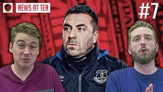 EVERTON CONFIRM UNSWORTH IN CHARGE TEMPORARILY | NEWS AT TEN #7