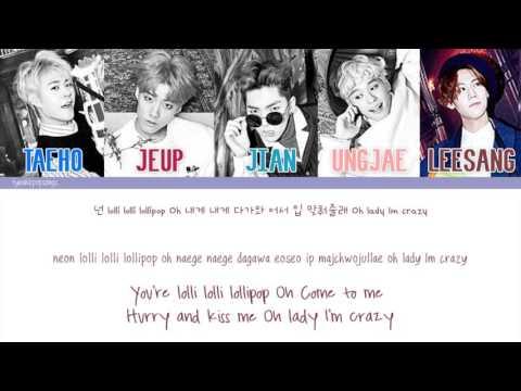 IMFACT (임팩트) - Lollipop (롤리팝) [Color Coded/Eng/Han/Rom]
