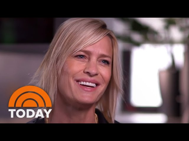 Robin Wright Talks About Kevin Spacey On TODAY\: 'I Didn't Know The Man' | TODAY