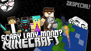 Scary Lady Moon? Ultimate Lucky Block PVP w/Robkiss, Vendali a Vitaa!
