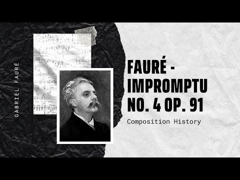 Fauré - Impromptu No. 4 Op. 91