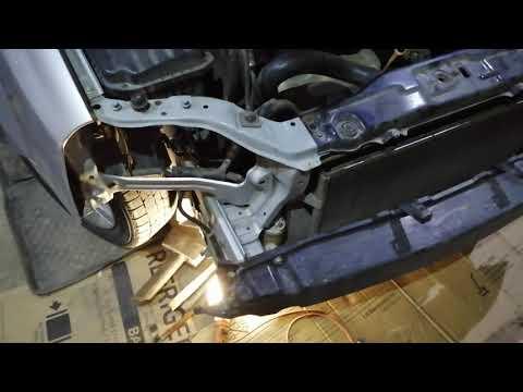 Шевралет Лачетти J200 Универсал, ЭТАП 1, Замена переднего и заднего бампера