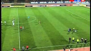 كأس مصر 2016 | ازمة داخل ملعب مباراة الاسماعيلى VS طلائع الجيش قبل الوقت الاضافى