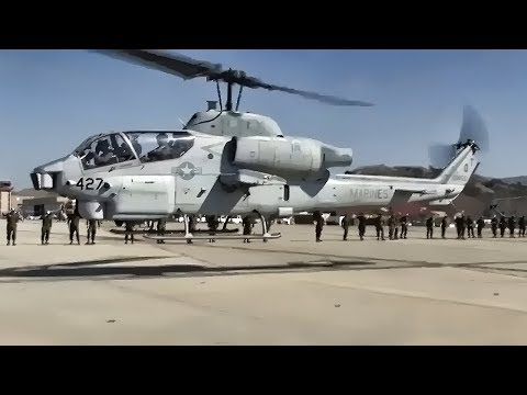 Squadron's Last AH-1W Super Cobra Flies To The Boneyard