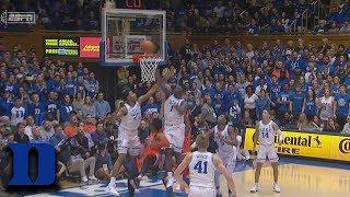 Duke's Zion Williamson Sends It Back