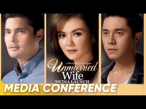 [FULL] 'The Unmarried Wife' Media Launch - Dingdong Dantes, Paulo Avelino, and Angelica Panganiban - 동영상