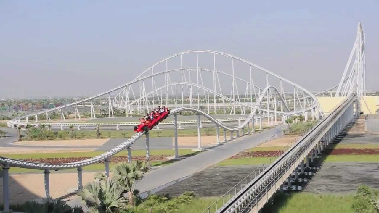 world's fastest roller coaster - 1280×720