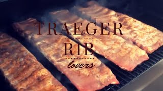 Smoking Ribs on a Traeger Grill