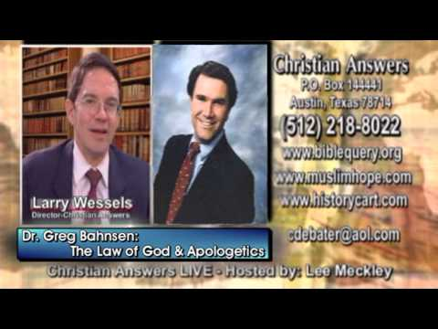 Consequences of Turning Away From God's Law & Biblical Apologetics - Dr Greg Bahnsen