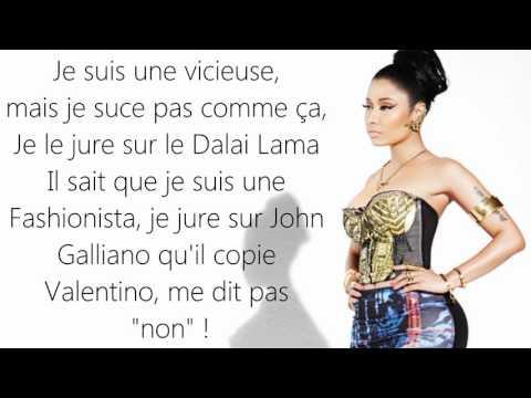 Nicki Minaj - Swalla    Lyrics Traduction