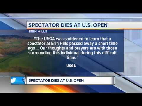 94-year-old dies at the U.S. Open