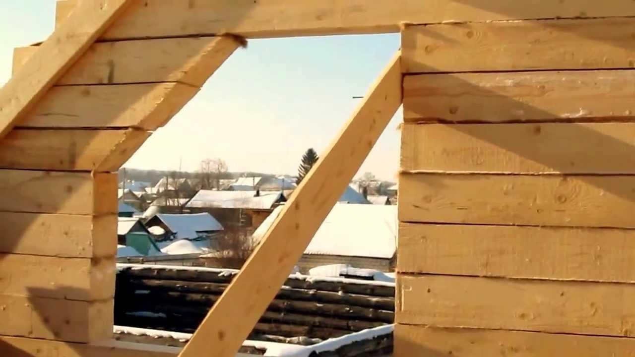 Как сделать крышу своими руками правильно?