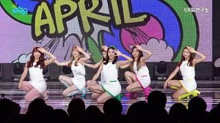 [예능연구소 직캠] 에이프릴 메이데이 @쇼!음악중심_20170610 MAYDAY APRIL in 4K