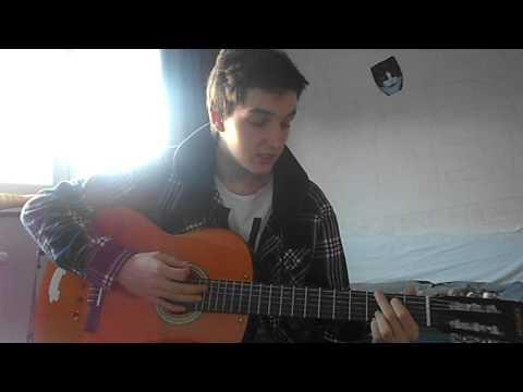 Naive By The Kooks - How to play on guitar -toturial- really easy beginner toturial