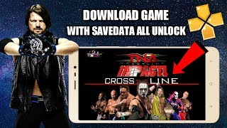DOWNLOAD TNA IMPACT CROSS THE LINE PPSSPP GAME WITH SAVEDATA