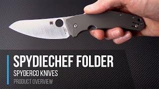 Spyderco SpydieChef Slysz Design Folding Kitchen Knife Overview